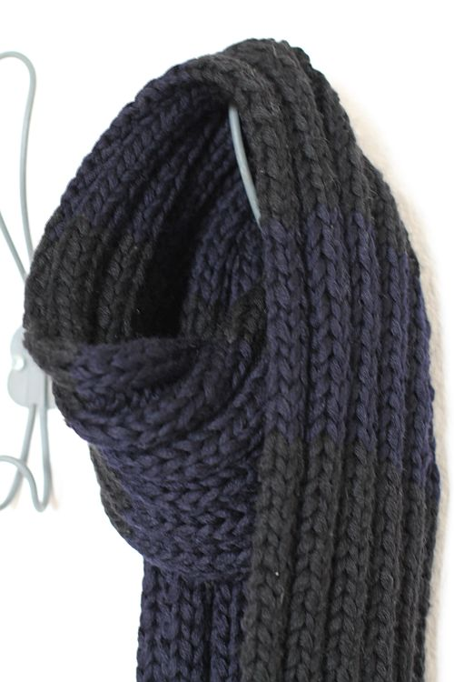Der Schal ist fertig!
