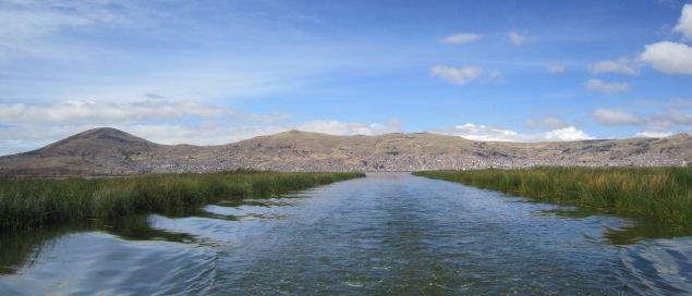 Mit dem Schiff auf den Titicacasee