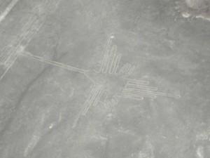 Nazca-Linien-Kolibri
