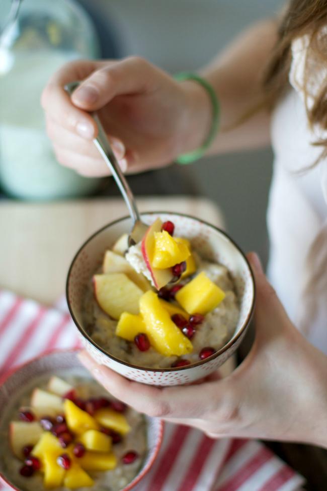 sonsttags - Porridge zum Frühstück