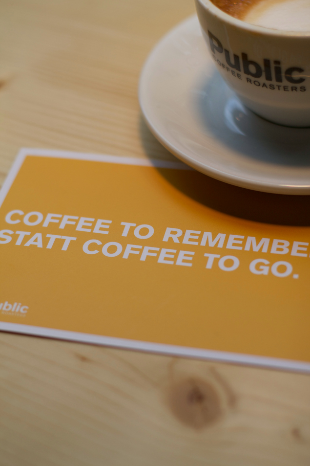 sonsttags - Coffee to remember von Public Coffee Roasters