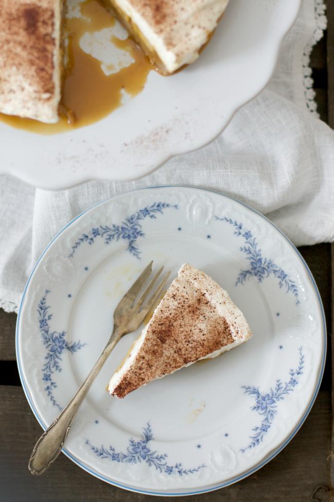 sonsttags - Bannoffee Pie mit Bananen und Dulce de Leche